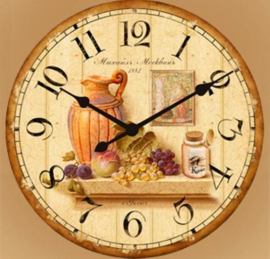 Ретро настенные часы своими руками